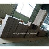 De moderne Modulaire Aangepaste Keukens van het Huis van de Keukenkast van pvc Keukenkast