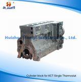 Het Blok van de Cilinder van de motor voor Enige Thermostaat 3939313 5260561 van Cummins 6CT