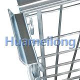 Mittleres Aufgaben-Lager-großer stapelbarer Stahlladeplatten-Rahmen