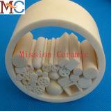Tube/pipe en céramique d'alumine de grande pureté de Cusdomized