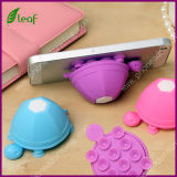 Otário Stand de Silicone Mobile Phone Holder Cell Phone da tartaruga (pH001)