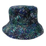Chapéu da cubeta com tela floral (BT053)