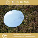 4mm runder Splitter-überzogenes Spiegel-Glas mit abgeschrägtem Polierrand