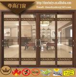 Modern Aluminium 2 de Schuifdeur van het Spoor met het Decoratieve Comité van het Glas