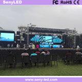 Farbenreicher druckgegossener Miet-LED-Innenbildschirm für das Wand-Bekanntmachen (P3.91mm)
