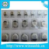 Condensador electrolítico de aluminio de RoHS SMD/Chip de la alta calidad