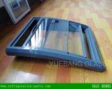 Porta de vidro curvada congelador da caixa (tamanho: 584X694mm)