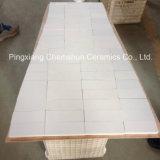 Forros cerâmicos da telha da engenharia da alumina de 92% para a proteção do desgaste