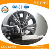 Máquina de estaca do diamante do torno do CNC do reparo da roda da liga