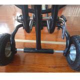 Do carro de aço da mangueira do carro do carretel da mangueira de jardim carro forte da mangueira