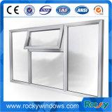 China-Hersteller-Zubehör-neues preiswertes Aluminiumflügelfenster-Fenster