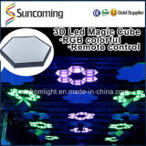 DJ Licht RGB 3 in 1 3D LED Wall Panel