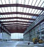 Taller de la estructura de acero con el palmo grande--taller de la estructura 50meter/Steel con la oficina