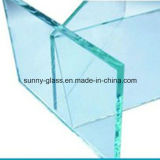 Vidro de flutuador do espaço livre do vidro de segurança para o indicador ou a construção