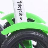 O frame Foldable do metal caçoa o triciclo de 3 rodas