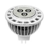 MR16 3W LED Spotlight met Aluminum Fins Material