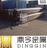 Double Flanged Ductile Iron Pipes du delta avec Puddle