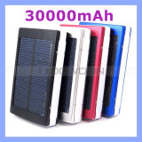 Hohe Capacity 30000mAh Dual Bank Charger USB-Solar Power für iPhone/iPad/Samsung Handys
