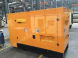 generatore diesel silenzioso di 125kVA Yuchai per il progetto di costruzione con le certificazioni di Ce/Soncap/CIQ/ISO