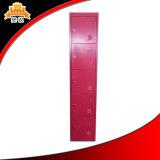 5 Tür-Stahlkursteilnehmer-Personal-Arbeits-Kleidungs-Speicher-Garderoben-Metallschrank-Schließfach