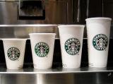 Papel laminado el PE para las tazas de café de Starbucks