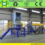 熱い洗濯機が付いているペットペットボトルウォーターのびんをリサイクルするためのラインをリサイクルしている300~3000kg/Hペット
