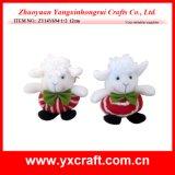 De Decoratie van het Stuk speelgoed (van zy14y694-1-2) van Kerstmis van de Decoratie van Kerstmis van het Geluk Schapen van de Mascotte