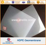 Flaches Dach-wasserdichte Membrane HDPE Geomembrane Weiß-Farbe