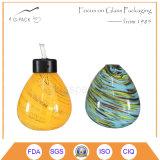 Petróleo da venda quente/lâmpada tabela de vidro coloridos do querosene, lanterna decorativa