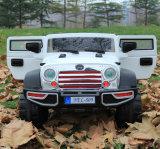 Автомобиль крупноразмерных малышей виллиса электрический с автомобилем игрушки младенца SUV СИД светлым