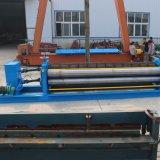 物質的な厚さ0.18-0.4mmのバレルの水平の波形の屋根のシート成形機械