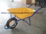ドバイの市場の手押し車の一輪車Wb6400