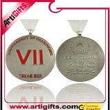 Medalla del metal de la alta calidad con la cinta modificada para requisitos particulares