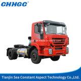 Головки трейлера трактора тележки с приводным двигателем Saic Iveco Hongyan 336HP 4X2 тележка /Truck головная /Tractor Right-Hand евро 3