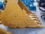 新しいCat320d 1.0 CBMの掘削機の部品の販売のための重い石のバケツ