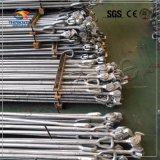 Barre de fouettement marine en acier modifiée pour le fouettement de conteneur