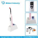 Lámpara dental sin cuerda de múltiples funciones del LED que cura la luz