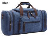 De blauwe Zwarte Kaki Zak van de Reis draagt de Bagage Gepersonaliseerde Zakken van het Canvas
