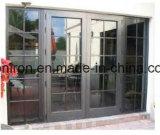 puerta de entrada francesa del frente del estilo del hierro moderno para el departamento