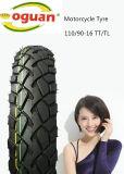 El neumático de la motocicleta de estar seguro el Qaulity