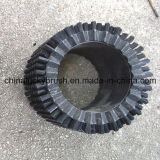 Cristal negro material de nylon redondo Cepillo de limpieza (YY-257)