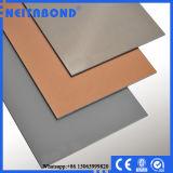 Panneau composé en aluminium balayé par argent des prix de Neitabond 3mm 4mm (ACP)