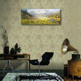 Le paysage de vallée dans la peinture à l'huile