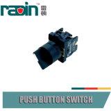 Tecla da luz de indicador dos interruptores IP65 seletos com luz piloto