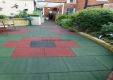 幼稚園のゴム製床タイルの運動場のゴムタイル