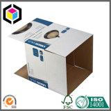 Rectángulo de empaquetado de papel impreso color compensado de la cartulina resistente