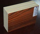 Водоустойчивая доска WPC/деревянная доска Lamnation зерна для делать шкафа