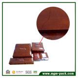 Коробка ювелирных изделий горячего сбывания изготовленный на заказ лоснистая деревянная