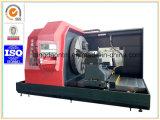 Токарный лобовой станок CNC высокой точности горизонтальный для поворачивая фланца (CK61200)
