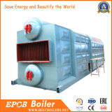Kohle feuerte Kettentrommel-industriellen Warmwasserboiler des gitter-zwei ab